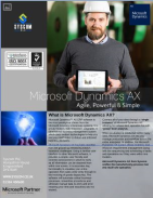 Harness the power of Microsoft Dynamics AX... Brochure
